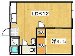 MAYUMIハイツ枚方5番館[1階]の間取り