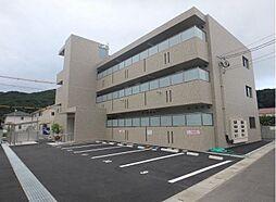 岡山県総社市清音上中島の賃貸マンションの外観