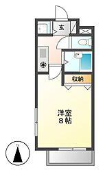 エルスタンザ鶴舞公園[2階]の間取り