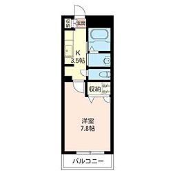 グランドソレーユ壱番館[2階]の間取り
