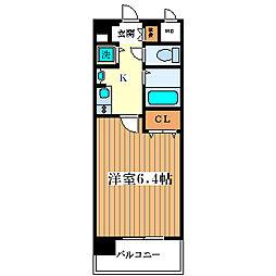 プレサンス淀リーヴァ[6階]の間取り