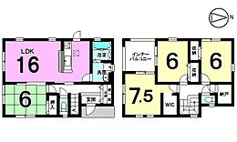 土地面積60坪大家族様でも納得の広さです。モデルルームもございますのでお気軽にお問合せ下さい。
