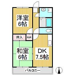 VIPマンション[2階]の間取り