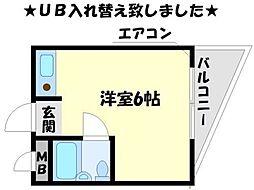 中村ビル[3階]の間取り