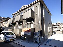 埼玉県川口市戸塚南4丁目の賃貸アパートの外観