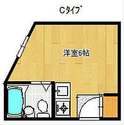 ドリームコート住吉大社[3階]の間取り