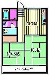 進藤ビル[3階]の間取り