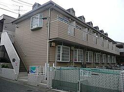 ローズアパートF13A棟[2階]の外観