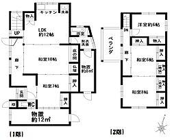 [一戸建] 愛媛県西予市明浜町高山 の賃貸【/】の間取り