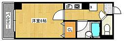 ルエメゾンロワールII[3階]の間取り