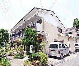 京都府京都市左京区銀閣寺町の賃貸アパートの外観