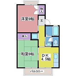 バイオレットファーム[1階]の間取り