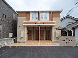愛知県名古屋市南区鳴尾1丁目の賃貸アパートの外観