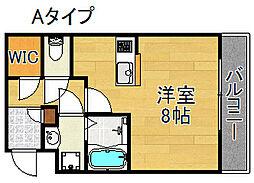 Ritz SQUARE Garden[3階]の間取り