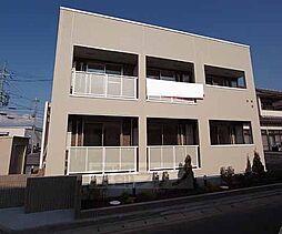 京都府八幡市下奈良一丁地の賃貸アパートの外観