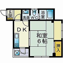 カーサ飯島[501号室]の間取り