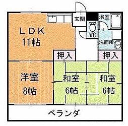 リバータウン蔵前 3階[302号室]の間取り
