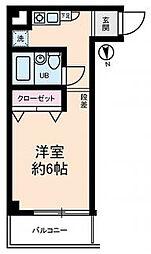 東京都江東区白河2丁目の賃貸マンションの間取り