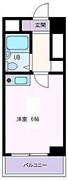 メゾン横堤[2階]の間取り
