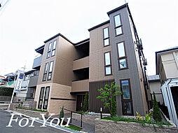 兵庫県神戸市灘区灘北通4丁目の賃貸アパートの外観