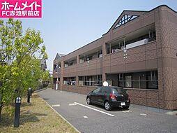 愛知県名古屋市緑区有松幕山の賃貸アパートの外観