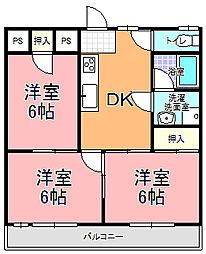 MK−2[303号室]の間取り