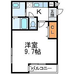 フジパレス武庫之荘V番館[1階]の間取り