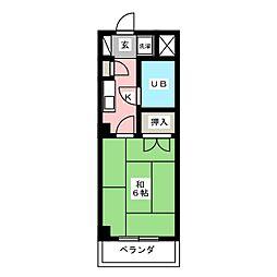 CASA NOAH名古屋III[3階]の間取り