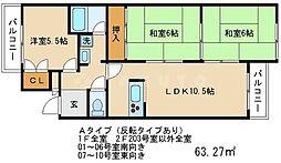 嵐山ファミリオ[2階]の間取り