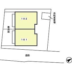 [テラスハウス] 静岡県駿東郡長泉町下土狩 の賃貸【/】の外観