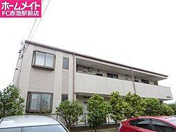 愛知県日進市梅森台4の賃貸アパートの外観