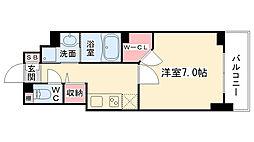 大阪府大阪市西区靭本町2丁目の賃貸マンションの間取り