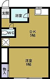 今郷マンション[2階]の間取り
