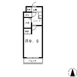プラティアSETA[1階]の間取り