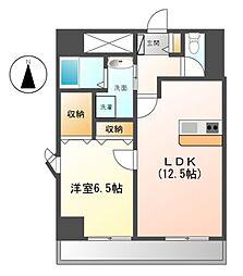 ABCサクラガーデン[5階]の間取り