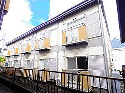 千葉県松戸市小金清志町3の賃貸アパートの外観