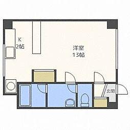 相馬ビル[2階]の間取り