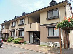 滋賀県守山市播磨田町の賃貸アパートの外観