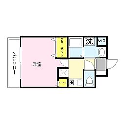 GOOD LIFE岩田[3階]の間取り