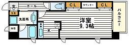 KAISEI四天王寺[2階]の間取り
