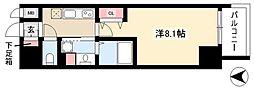 レジデンシア マルノウチ ノース 5階1Kの間取り
