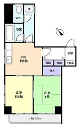 八千代TKビルII[4階]の間取り