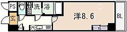 ルミエール久宝寺I[501号室]の間取り