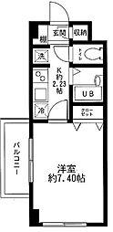 フォートラス板橋本町[1階]の間取り