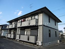 東京都八王子市小宮町の賃貸アパートの外観