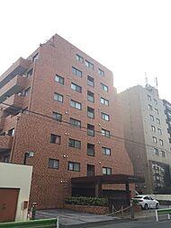 東京都港区白金4丁目の賃貸マンションの外観