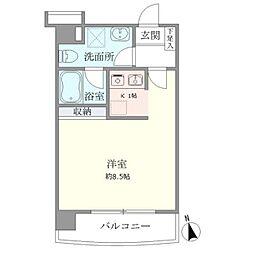 ティアラ恵比寿[5階]の間取り