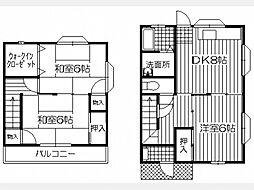 山口アパート[3号室]の間取り