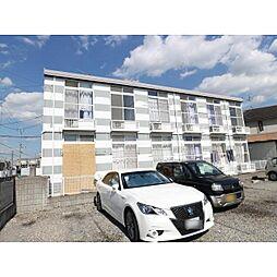 奈良県大和郡山市小泉町東の賃貸アパートの外観