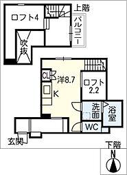 RadIAnce鳴海[1階]の間取り